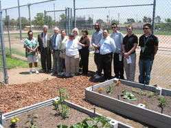 Buena Vista Elementary School Garden Dedication