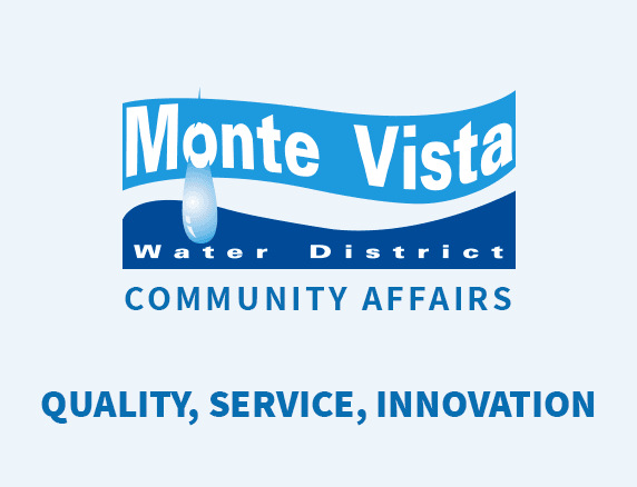 Monte Vista Water District Community Affairs
