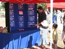 Kids Playing Water Jeopardy